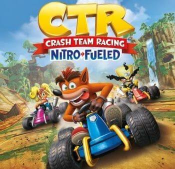 Crash Team Racing - Nitro Fueled - PS4 Secondary Account (Europe/Arabic)